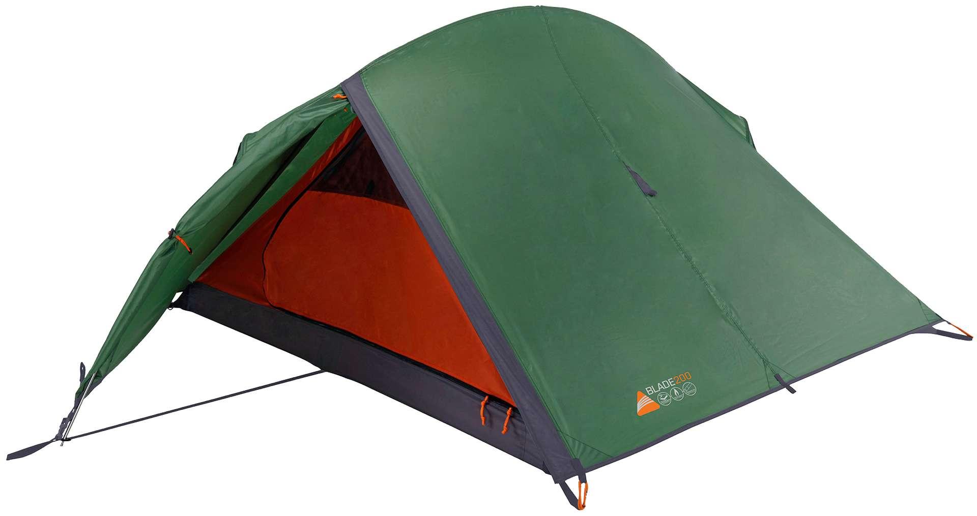 Zelt 2 Personen Wassersäule 5000 : Zelt vango blade für personen biker trekking