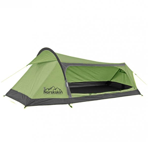 Norskskin Kevyt 2 Personen Ultraleicht Zelt für Trekking 1,3Kg 2000 mm Wassersäule