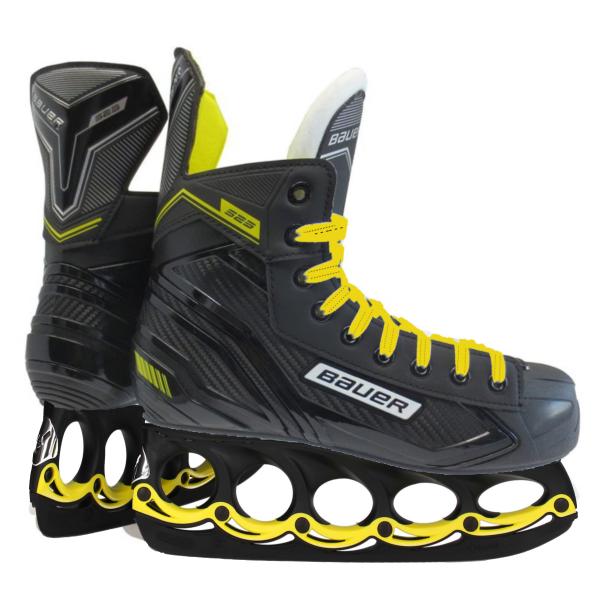 t blade Schlittschuhe Bauer Supreme S23 Senior Eishockey Schuhe