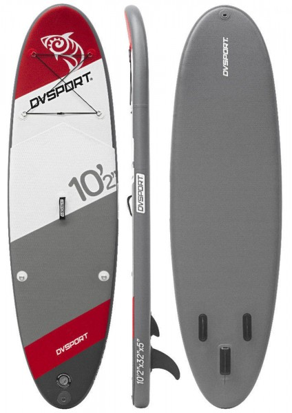 DVSPORT 10.2 FUSION 310 SUP Stand Up Paddle Board Surf aufblasbar Paddel ISUP
