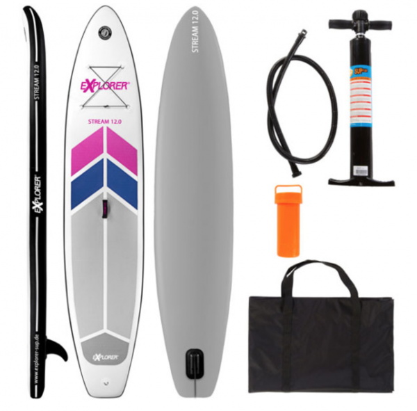 Stand-up-Paddle Stream 12.0 Paddel Boot bis 160 Kg