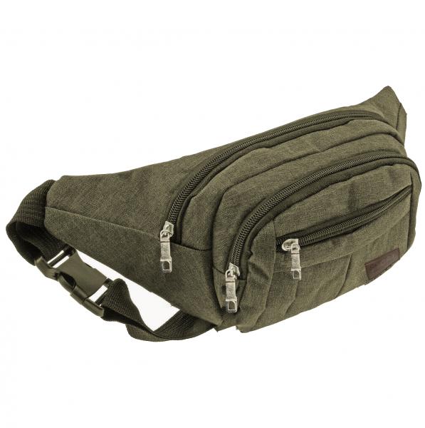 Bauchtasche Gürteltasche Hüfttasche Oliv Umhängetasche Crossbag