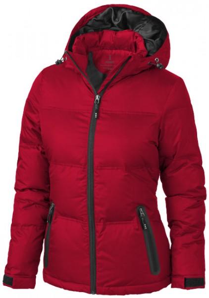 Damen Daunenjacke rot Superwarm Caledon Damen Winter Daunen-Jacke