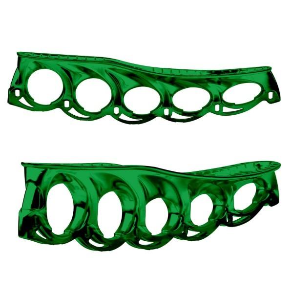 t-blade Holder metallic-grün für Schlittschuhe