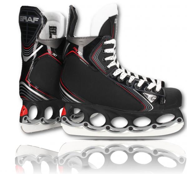 tblade Schlittschuhe Graf Pk110 Eishockey und Freestyle t blade Schlittschuhe Eislaufen