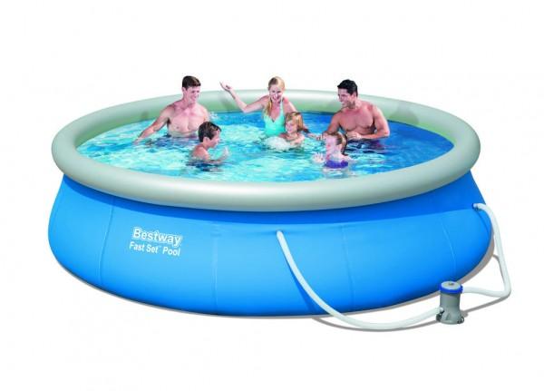Fast Set Pool von 240 cm bis 360 cm Up Planschbecken