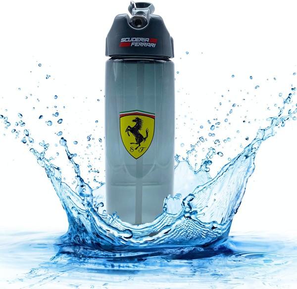 Trinkflasche Ferrari Scuderia Sport-Wasserflasche Schwarz 700 ml BPA Frei