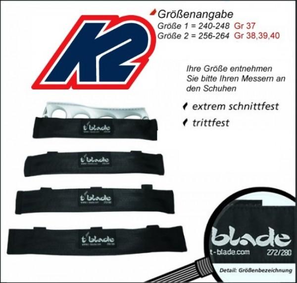 tblade Schoner von K2 nur für t blade Schlittschuhe