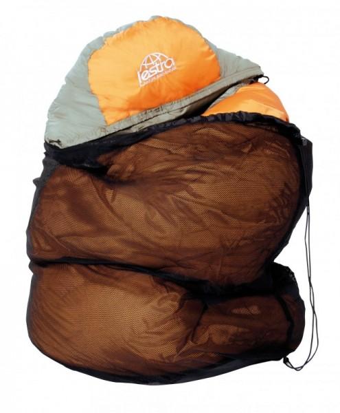 Lestra Aufbewahrungsnetz für Schlafsäcke alle-Größen Daunenschlafsack Mumienschlafsack