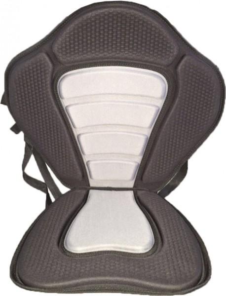 Stand Up Paddle Board Kajak-Sitz schwarz-grau