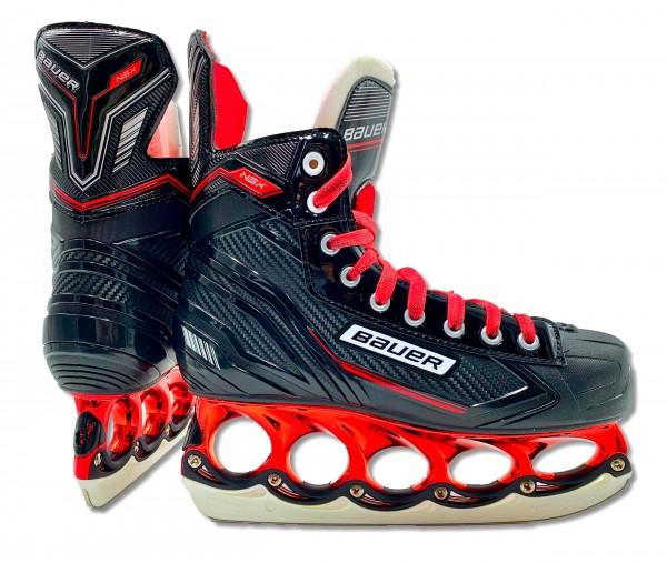 tblade Schlittschuhe Bauer NSX Red Edition t-blade Eishockey Schlittschuh Sondermodel