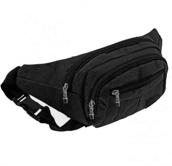 Bauchtasche Gürteltasche Hüfttasche Schwarz Umhängetasche Crossbag