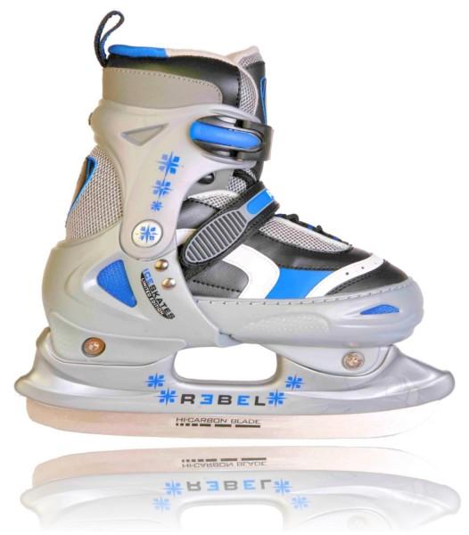 Blue REBEL ICE STAR Schlittschuhe grössenverstellbar Größe 30-33