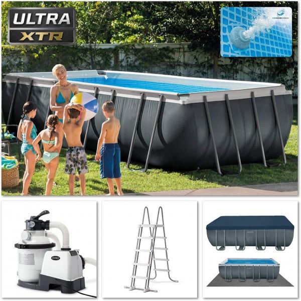 Frame Pool Schwimmbad Pool -Set Ultra Quadra, 549 x 274 x 132 cm, XTR 26356