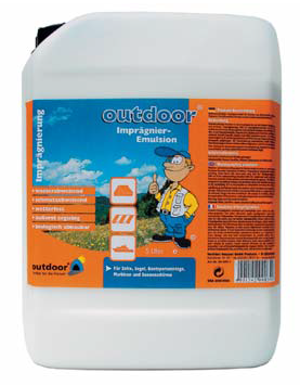 Outdoor Imprägnier Emulsion für Zelt