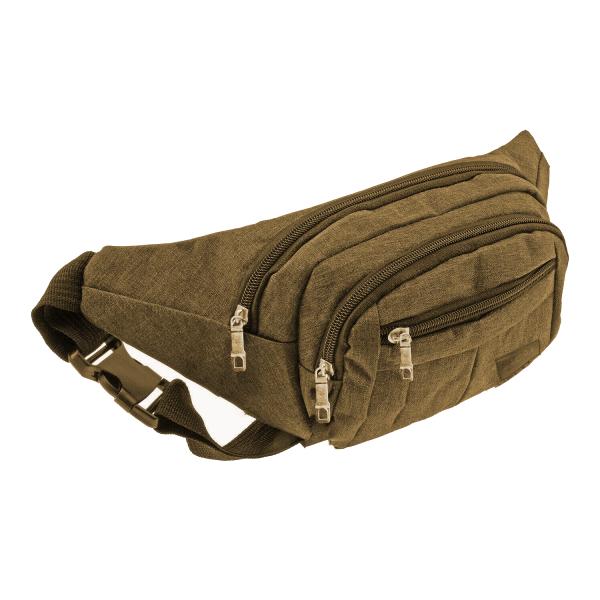 Bauchtasche Gürteltasche Hüfttasche Sandfarben Umhängetasche Crossbag