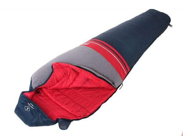 Mumienschlafsack Lestra Wool Original Schlafsack mit Woll Füllung Natur Pur