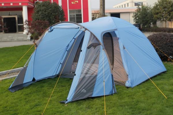 Zelt RIVA 4 Personen Zelt mit großem Vorrzelt