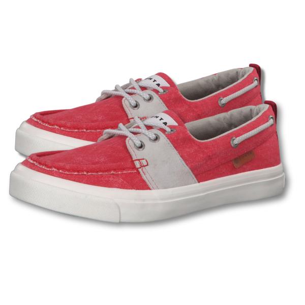 Lutha Damen Schuh Sneaker Rot VAPAA A.W.S. cool net Einlagen