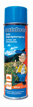 Outdoor Zelt Imprägnier Spray ca 5 m2