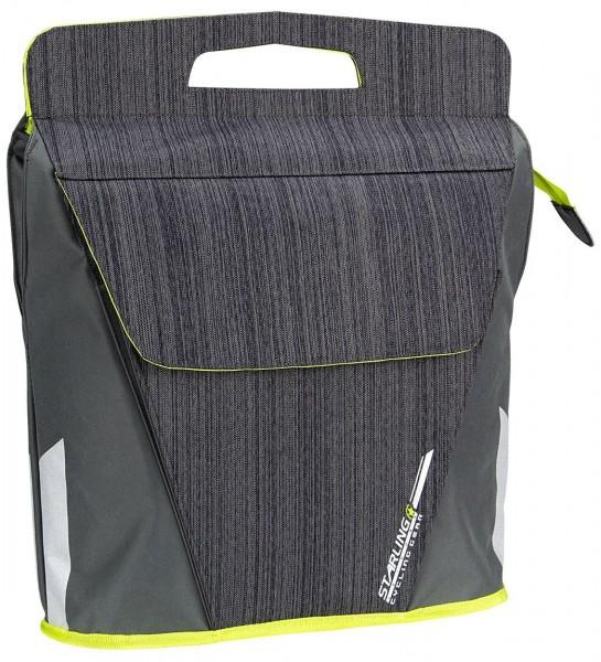 Satteltasche SHOPPER FAHRRADTASCHE Einkaufstasche Beutel mit Gepäckträgerhalter Fahrrad