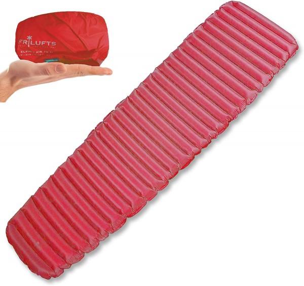 FRILUFTS ELPHIN Red AS 6.0 - Isomatte Luftmatratze 500 Gram Thermomatte