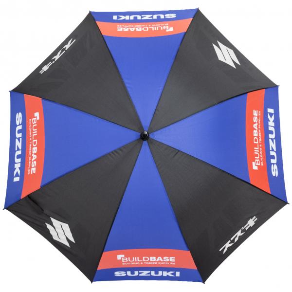 Regenschirm Suzuki 130 cm Durchmesser Automatik Funktion Sonnenschirm